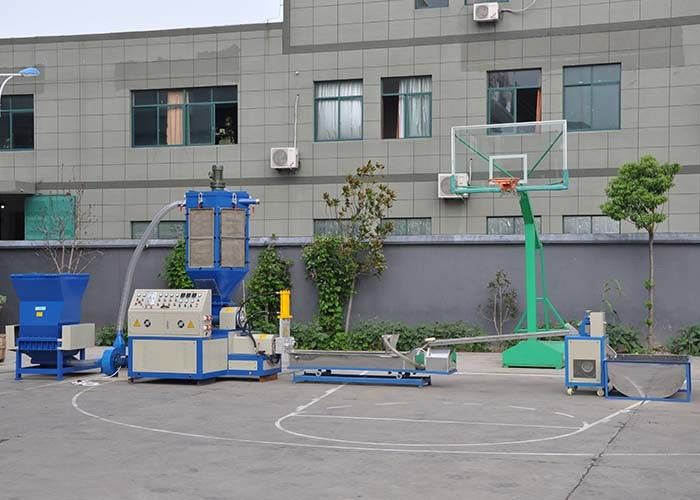 EPS XPS foam recycling and pelletizing line LDG output 60-90kg/h 15-5.5kw power