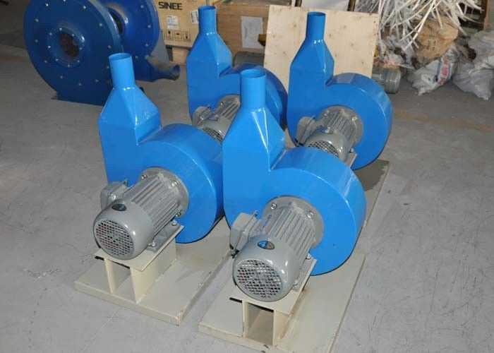 Plastic Industrial Air Blower LCF-6 Power 7.5kw Height 15000mm Big Air Volume