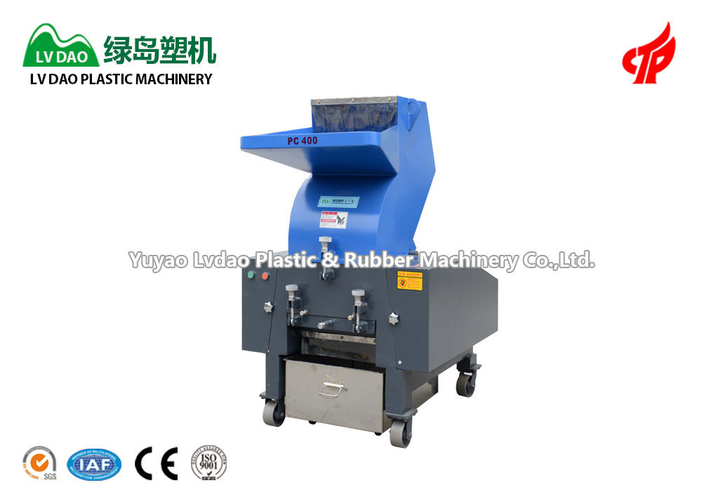 Automatic Plastic Crusher Machine 15KW Power Customized Voltage 450 - 800kg/H
